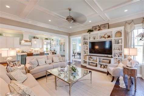 living room coastal living room with french style coastal decor ideas living room traditional with coffered