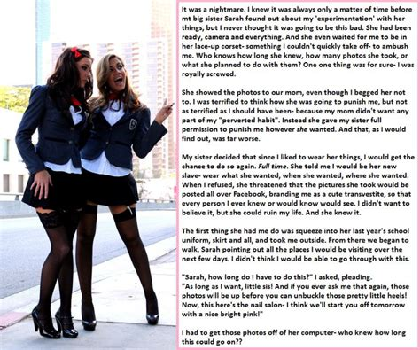 tg short stories my sister s slave png 862 215 720 sissy feminzation