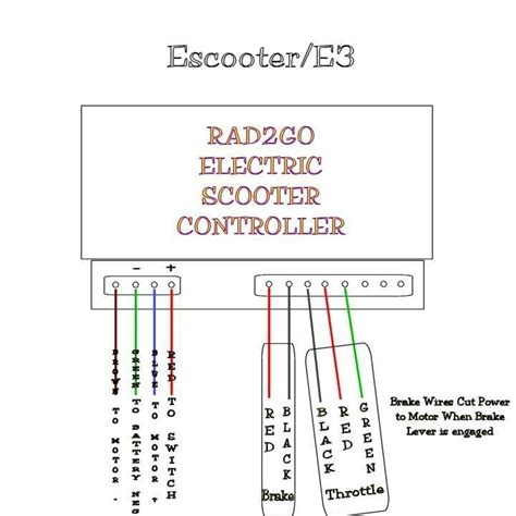 rascal 600 scooter wiring diagram 33 wiring diagram