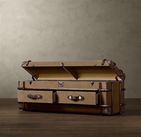 steamer trunk dresser restoration hardware steamer trunk restoration hardware almacenaje