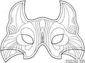 carnival mask template printable best photos of carnival mask template printable