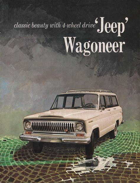 jeep kaiser wagoneer kaiser 1965 wagoneer jeep sales brochure