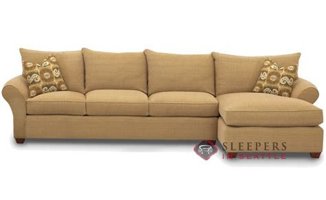 chaise sectional sleeper customize and personalize flagstaff chaise sectional