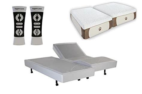 dynastymattress 12 inch split king s cape adjustable bed set sleep system leggett platt with