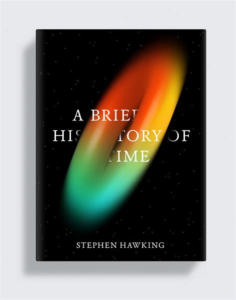 design brief book cover a brief history of time on behance