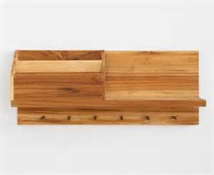 entryway wooden wall shelf gadgetsin