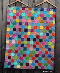 Quilt Picture simple quilt wombat quilts