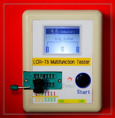 lcr capacitor review free shipping lcr t5 graphical multi function tester capacitor inductance resistor scr