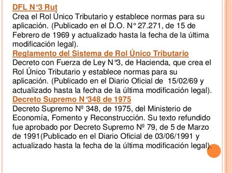 textos legales y reglamentos servicio de impuestos internos impuestos de primera y segunda categoria