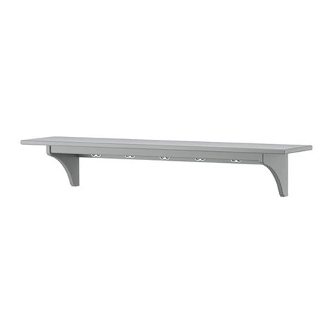 stenstorp wall shelf grey 120 cm ikea