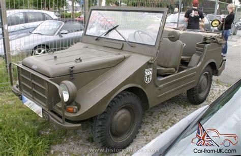 Audi Munga by Dkw Audi Munga Ex German Army Vehicle