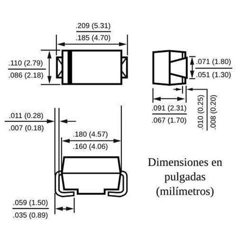 1n4007 smd diode datasheet 10 x m7 1n4007 diodo rectificador rectifier diode do 214ac smd ebay