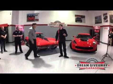 Presentation Giveaways - full award presentation of 2015 corvette dream giveaway winners of corvette dream