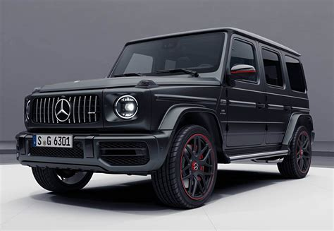 Mercedes Amg G63 by 2018 Mercedes Amg G63 Edition 1 Is The Most Menacing G