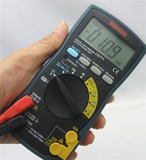 Digital Multimeter Sanwa Cd771 impa 795754 compact system digital multi tester sanwa