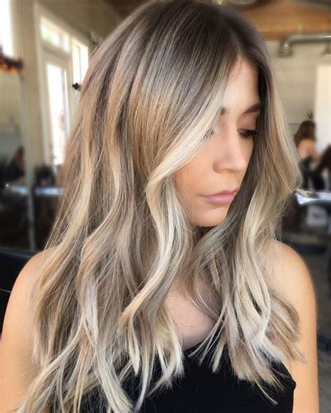 hair colors brown on bottom blonde on top best 25 blonde balayage on brown hair ideas on pinterest
