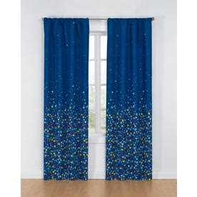 glow in the dark curtains shop glow glow 84 in multi polyester rod pocket single