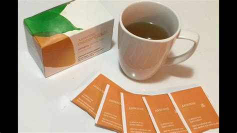 Arbonne Detox Tea While by Arbonne Herbal Detox Tea