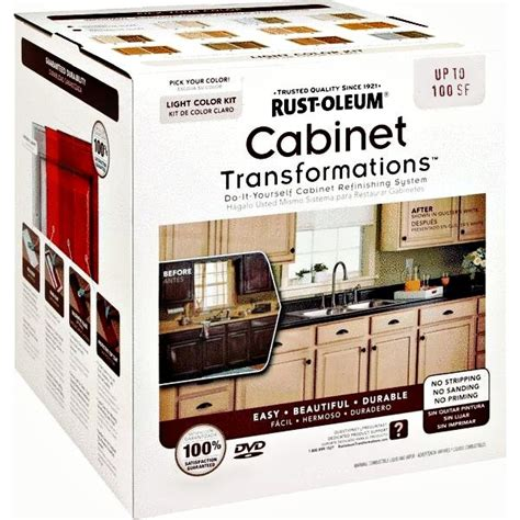 kit kitchen cabinets buy the rustoleum 258109 cabinet transformation kit small