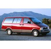 1994 Ford Aerostar  Information And Photos ZombieDrive