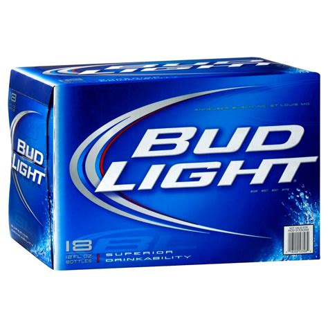 18 pack of bud light upc 018200533082 bud light beer bottles 12 oz 18 pk