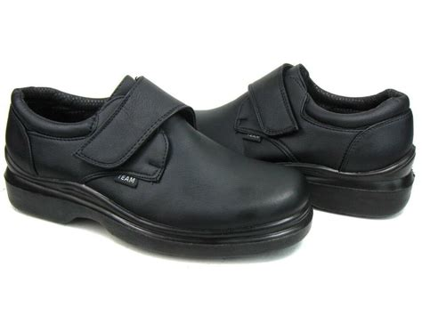 kitchen shoes non slip s kitchen non slip working skid resistance synthetic shoes black ebay