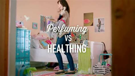 lysol disinfectant spray tv commercial perfuming  healthing ispottv