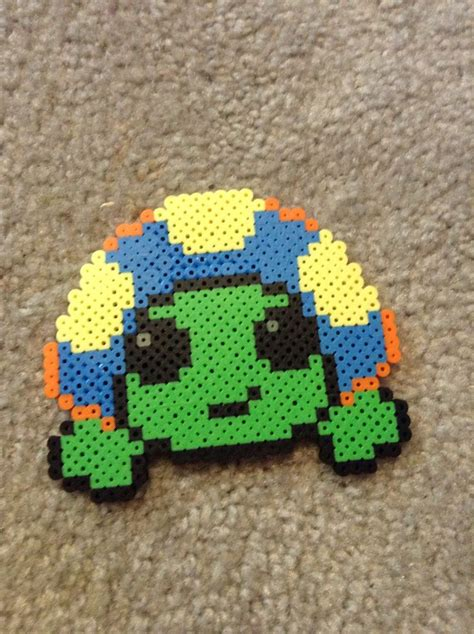 turtle perler 99 best images about perler on snowflakes