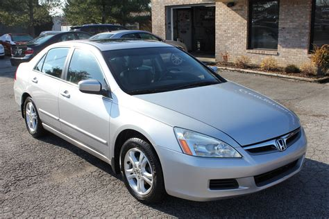 used 2006 honda accord ex l silver leather sunroof for sale georgetown auto sales kentucky sold