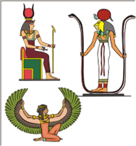 isis egyptian goddess clip art ancient egyptian designs vector images on cd or by download