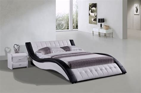 modern low profile bed violet modern low profile bed