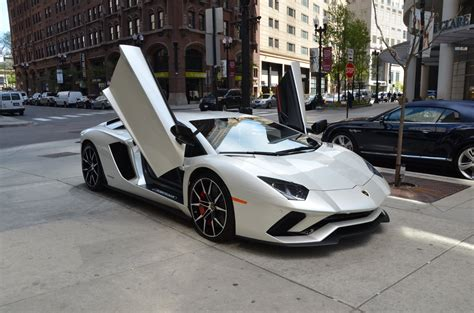 lamborghini light grey 2017 lamborghini aventador s lp 740 4 s stock l374 s for