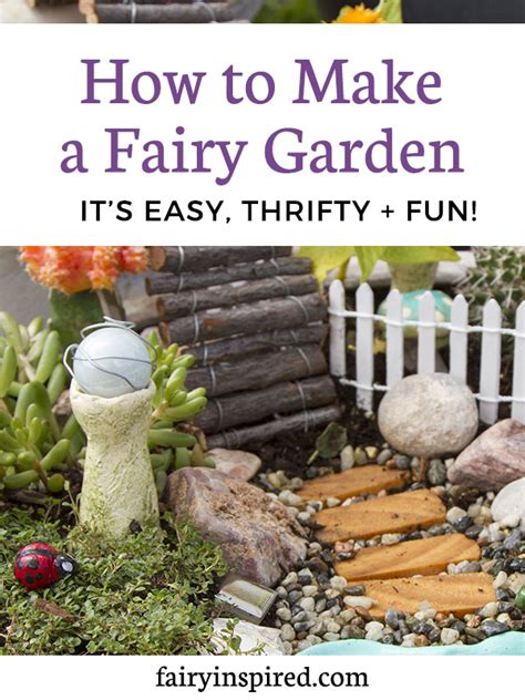 how to make a fairy garden diy tutorial 187 fairy inspired