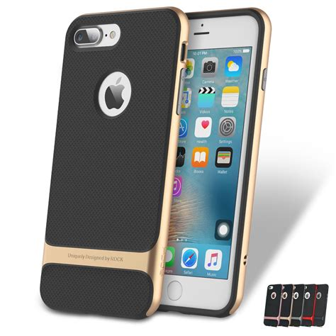 Cococase Shockproof Iphone 7 Plus rock royce ultraslim hybrid shockproof cover bumper for iphone 7 7 plus ebay