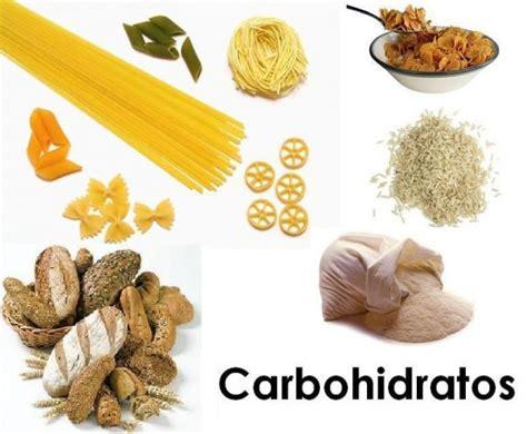 alimentos saludables  contienen carbohidratos