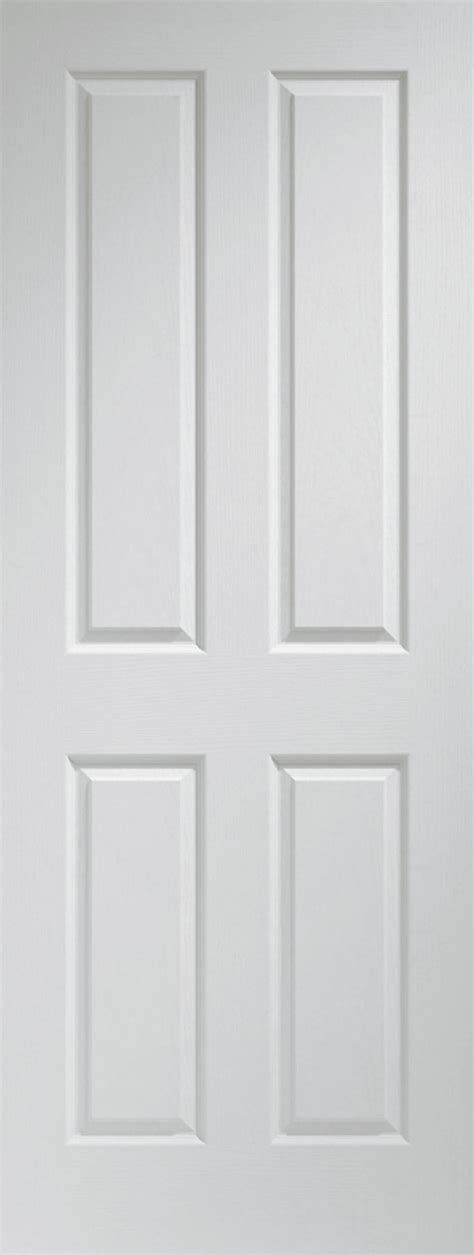 White Panel Interior Doors 4 Panel Interior Doors White 4 Panel White Primed Door 40mm Doors White Doors Contemporary 4