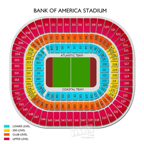 bank of america stadium seating bank of america stadium tickets bank of america stadium
