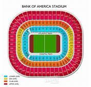 Bank Of America Stadium Charlotte Nc Seating Chart  Autos
