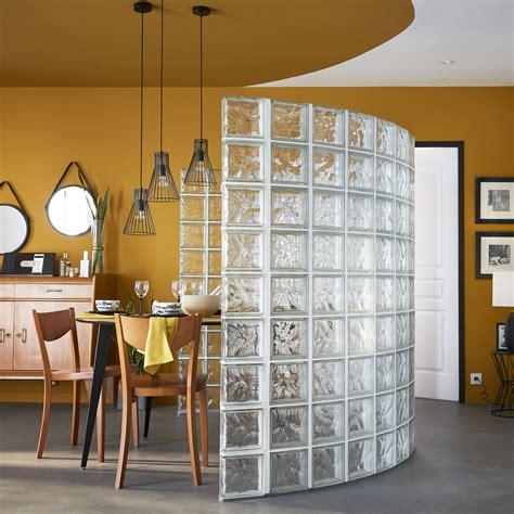 Briques Pour Cloisons by Cloison D 233 Co En Briques De Verre Transparentes Pour Cr 233 Er