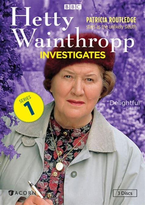 theme music hetty wainthropp investigates hetty wainthropp investigates series 1 dvd english