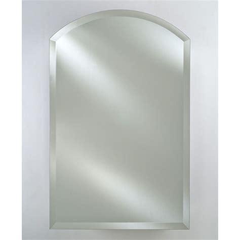arched bathroom mirror specialty collection single door 16 to 24 wide