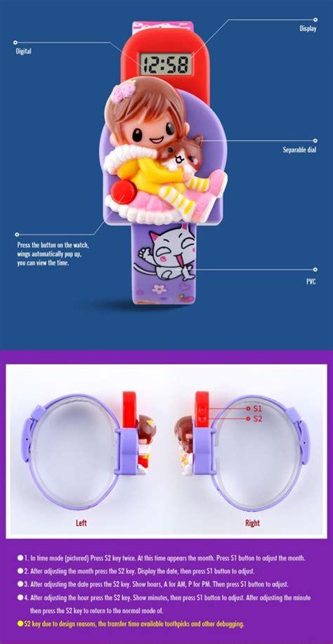 Jam Tangan Anak Lucu skmei jam tangan anak dg1240 purple jakartanotebook