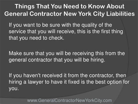 learning new things and you need to understand things that you need to about general contractor new york city l
