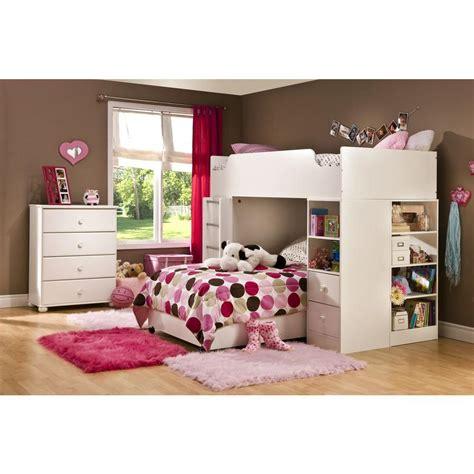 sand castle pure white kids twin wood mates storage bed 3 twin kids bedroom set south shore logik 4 piece pure white