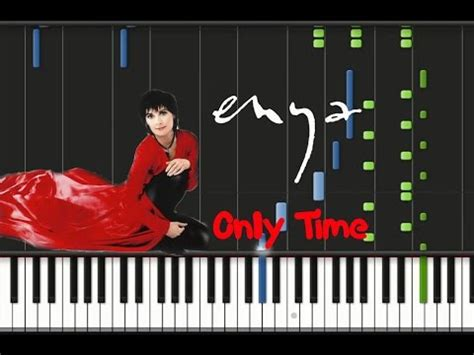 tutorial piano enya enya only time synthesia tutorial youtube