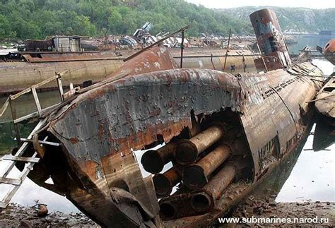 forgotten soviet submarine graveyard on the kola peninsula