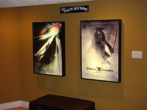 movie poster light box display frame cinema lightbox light