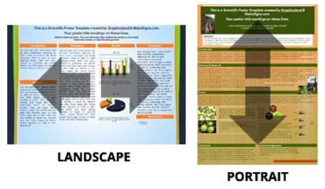 poster layout portrait planning out your scientific poster arranging a poster