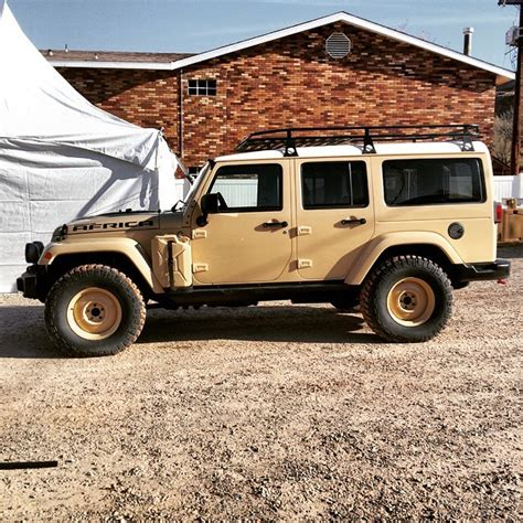 jeep africa bushwacker the jeep wrangler jk africa concept 4x4