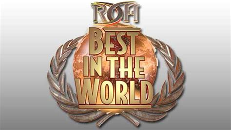 best in roh best in the world 2017 show free